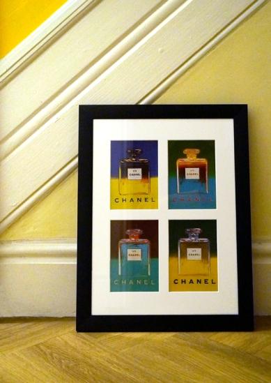 Chanel Postcards