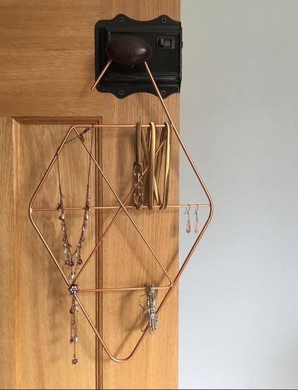 Copper Accessory Hanger