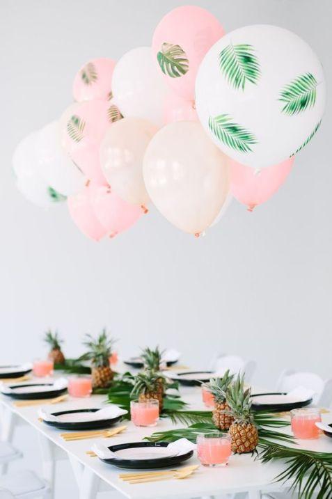 palm leaf party princess