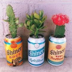 Beer Can Planters