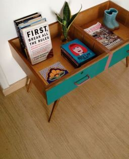 Upcycled Drawer Table