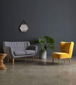 Grey & Yellow Livingroom