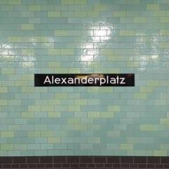 Alexanderplatz Metro Tiles