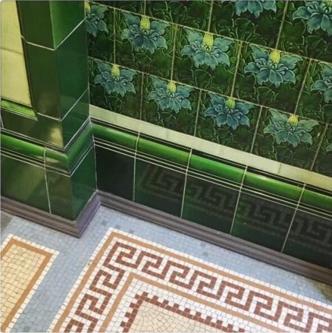 Green Manchester Tiles