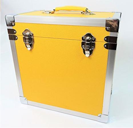Yellow Vinyl Storage Case