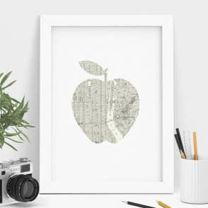 original_new-york-city-big-apple-street-map-art-print