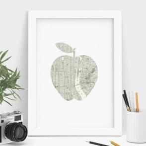 original_new-york-city-big-apple-street-map-art-print