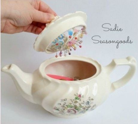 Teapot Pin Cushion