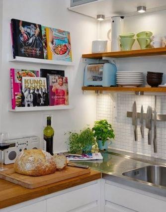 Cook Book Picture Shelf
