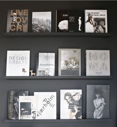 Monochrome Picture Shelf