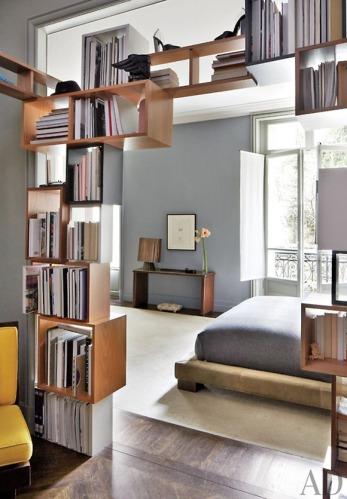 Book Case Room Divider