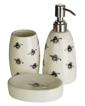 Bee Bathroom Accessory Set