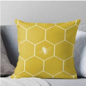 Bee Hive Cushion