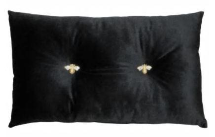 Black Bee Cushion